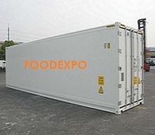 Refrigerated/Freezer container - Pallet space
